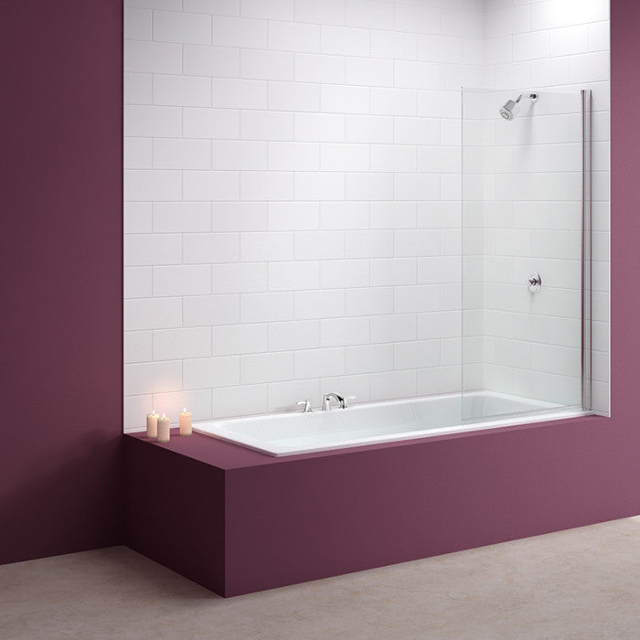 Merlyn MB2 Square Bath Screen