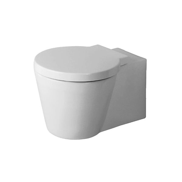 duravit starck 1 wall hung pan wall hung toilets indesign. Black Bedroom Furniture Sets. Home Design Ideas