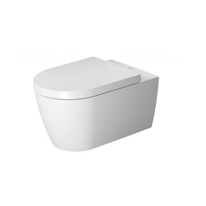 Duravit ME by Starck Rimless Wall-Mounted Pan - Indesign