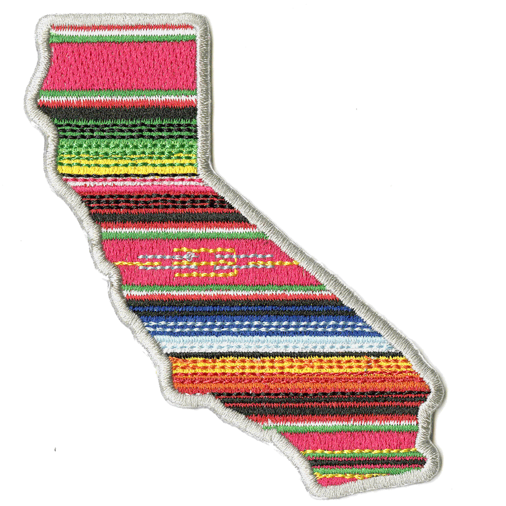 California Aztlán Patch <BR> by John Hersey