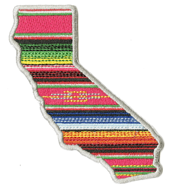 CALIFORNIA SERAPE PATCH LARGE <BR> by John Hersey
