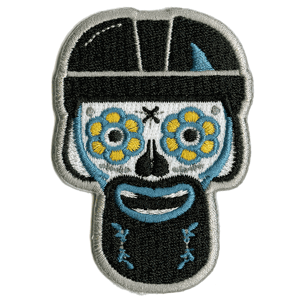 Sharks Embroidered Patch
