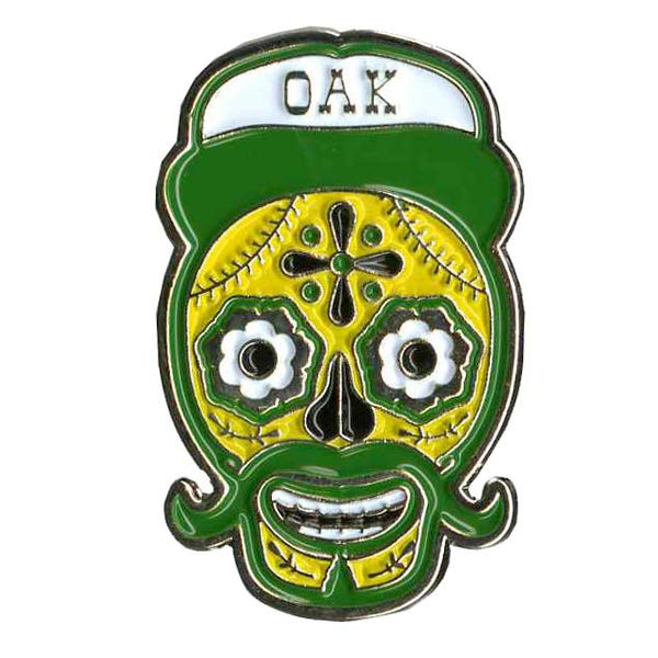 DIA DE LOS OAK LAPEL PIN