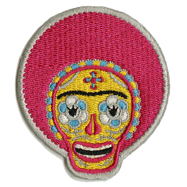 Soul Frida Embroidered Patch