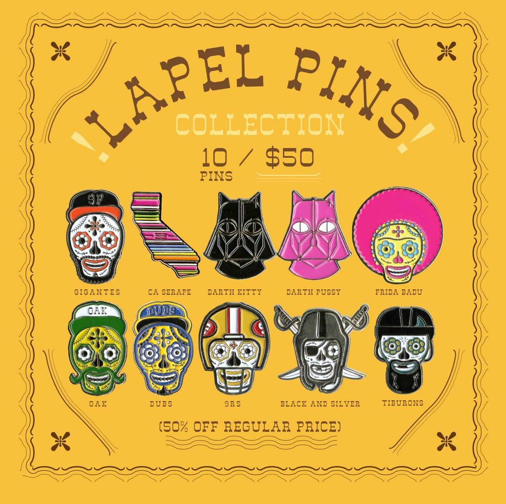LAPEL PIN COLLECTION PACK!