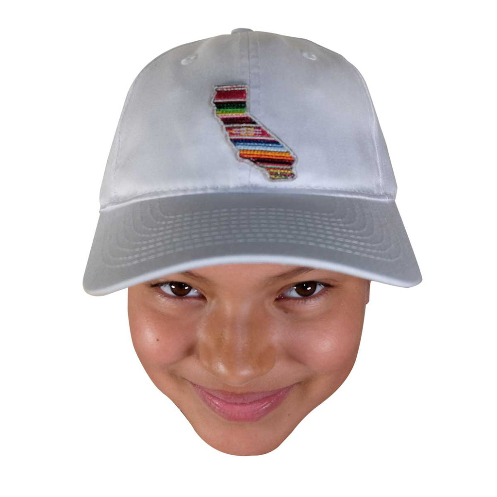 CAL SERAPE DAD HAT WHITE