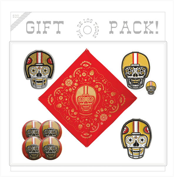 RED AND GOLD GIFT PACK