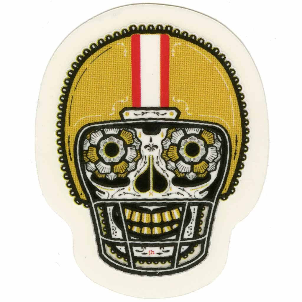 9ers Red and Gold Sticker (Mini)