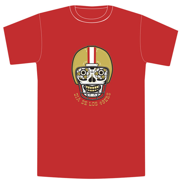 RED AND GOLD Unisex Tee - Red