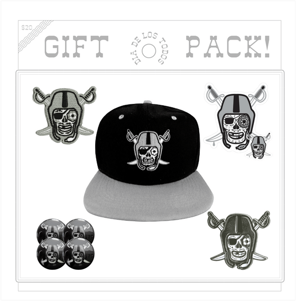 DIA DE LOS TODOS BLACK AND SILVER GIFT PACK