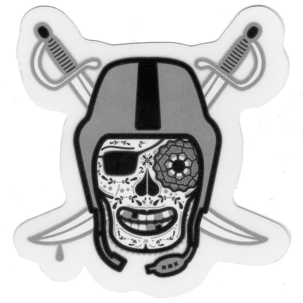 Raiders Sticker (Mini)