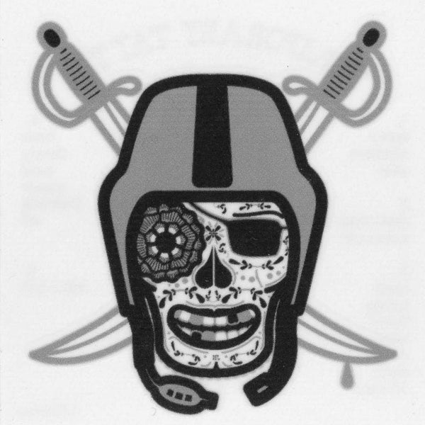 Raiders Temporary Tattoo