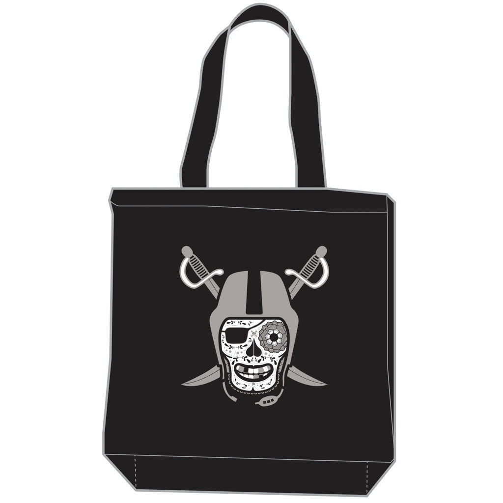Black and Silver Tote Bag