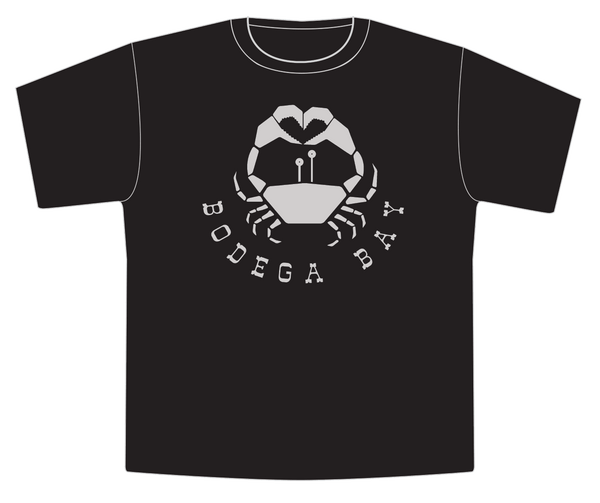 BODEGA BAY YOUTH TSHIRT BLACK
