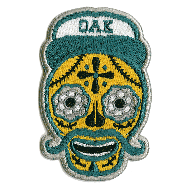 OAK Embroidered Patch