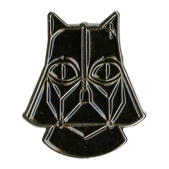 DARTH KITTY LAPEL PIN