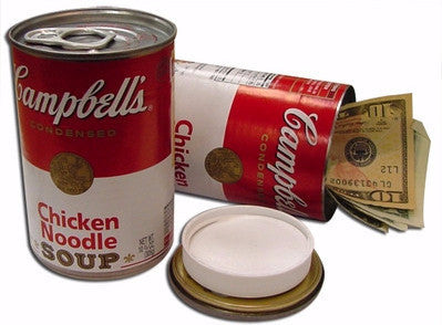Campbells Chicken Noodle Soup Stash Can - Zilla