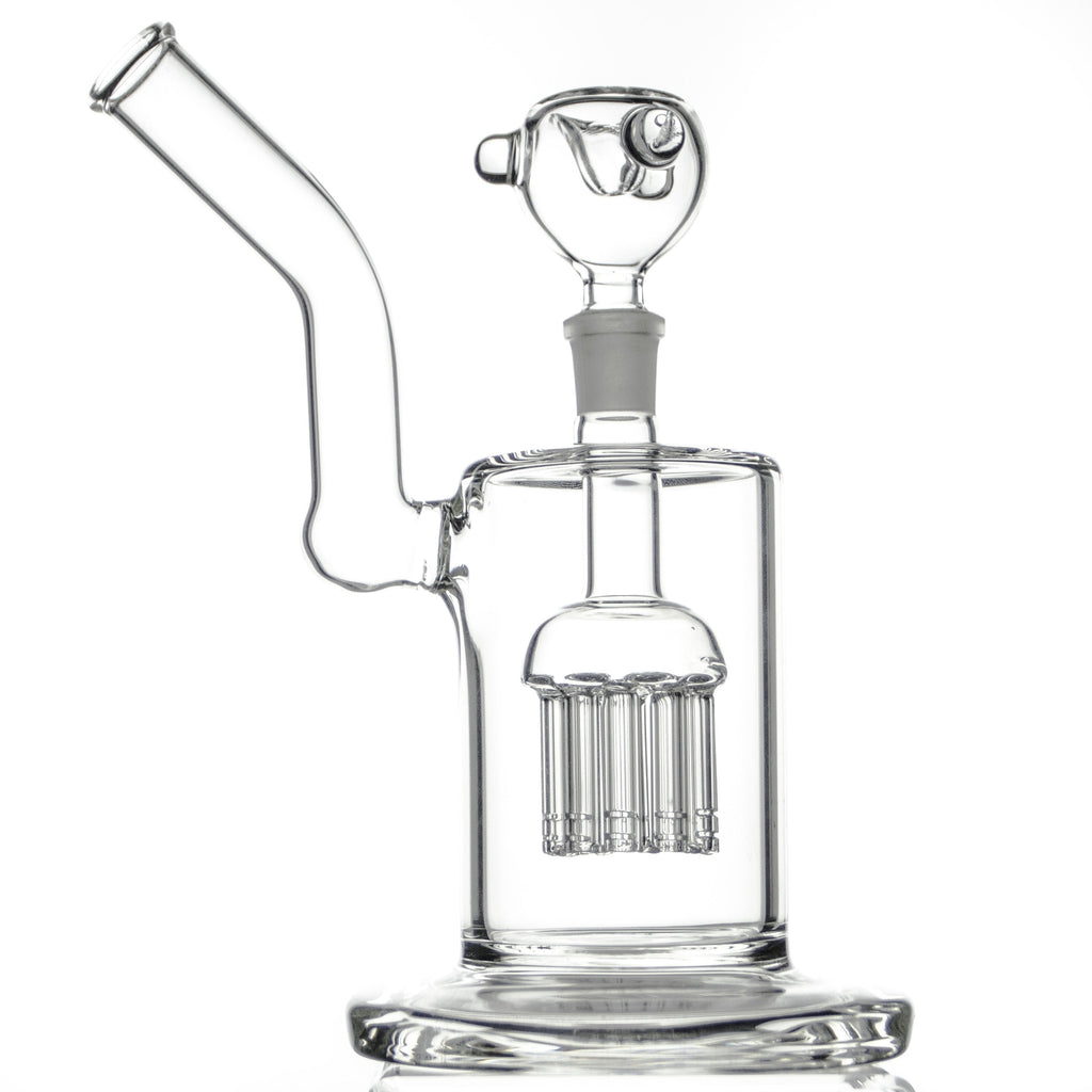 "Bent Neck Tree Perc Bubbler 8"" - Zilla"