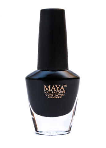 Maya Halal Breathable Nailpolish - Black Seed