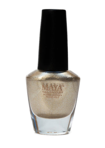 Maya Halal Breathable Nailpolish - Gold Digger