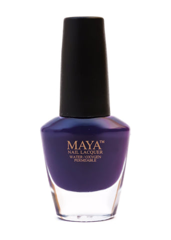 Maya Halal Breathable Nailpolish - Plumberry