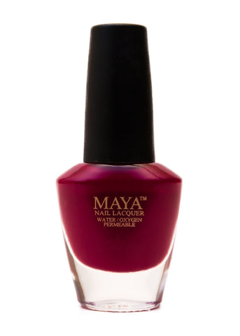 Maya Halal Breathable Nailpolish - Ruman