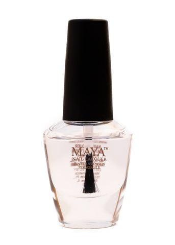 Maya Halal Breathable Nailpolish - Top Coat - Gloss