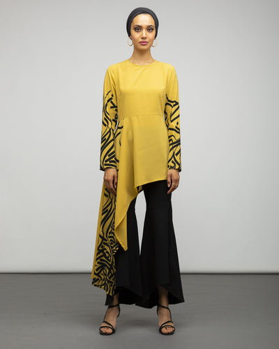 Marigold Asymmetrical Top - Verona Collection