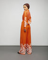 The Poppy Calligraphy Jumpsuit - Verona Collection