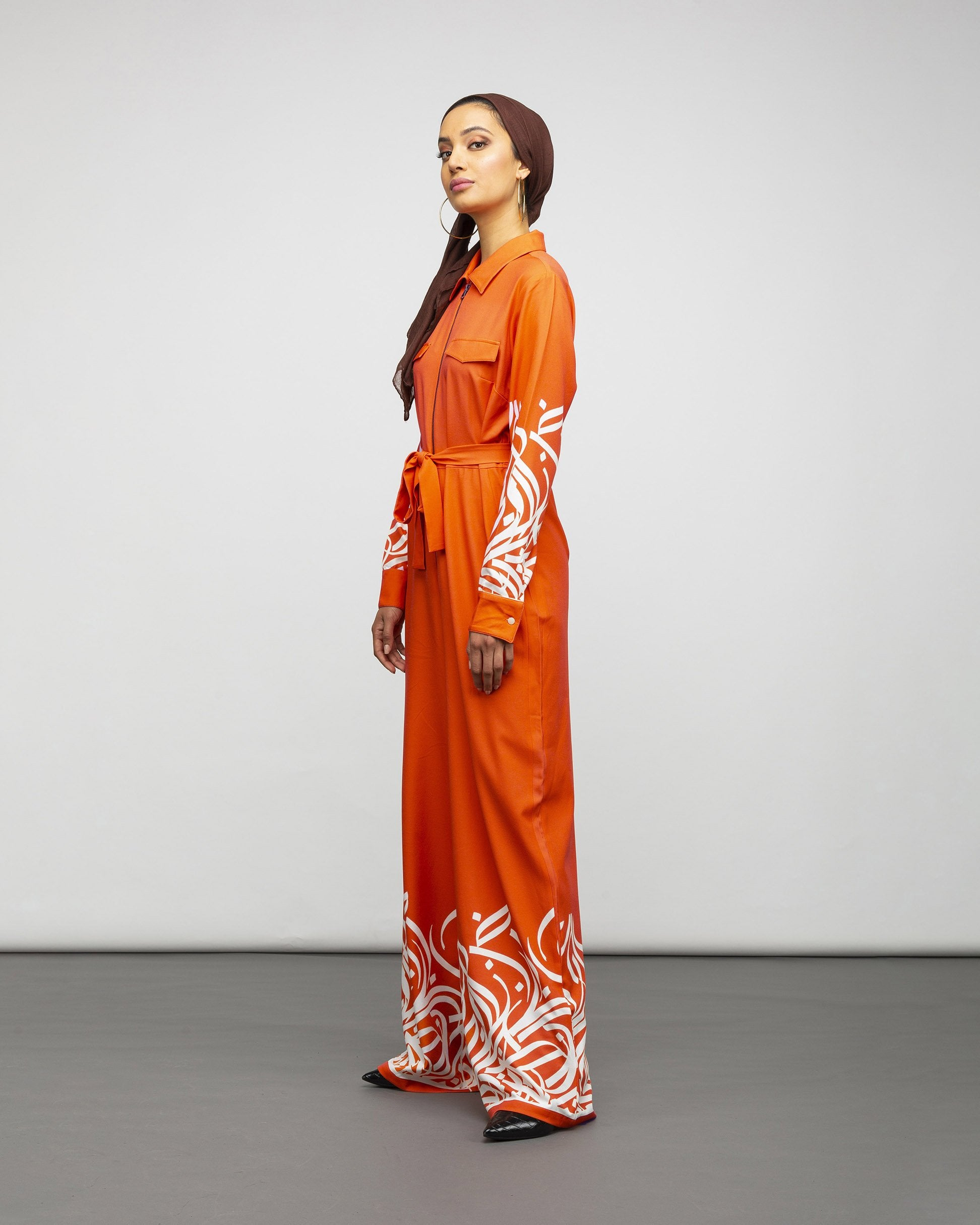 The Poppy Calligraphy Jumpsuit