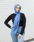 Viscose Hijab - Dark Blue