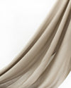 Luxury Viscose Modal Hijab - Latte