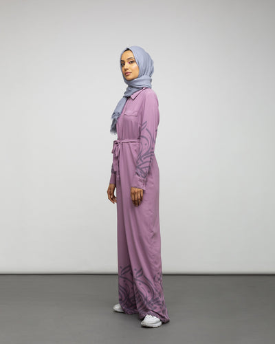 Twilight Calligraphy Jumpsuit - Verona Collection