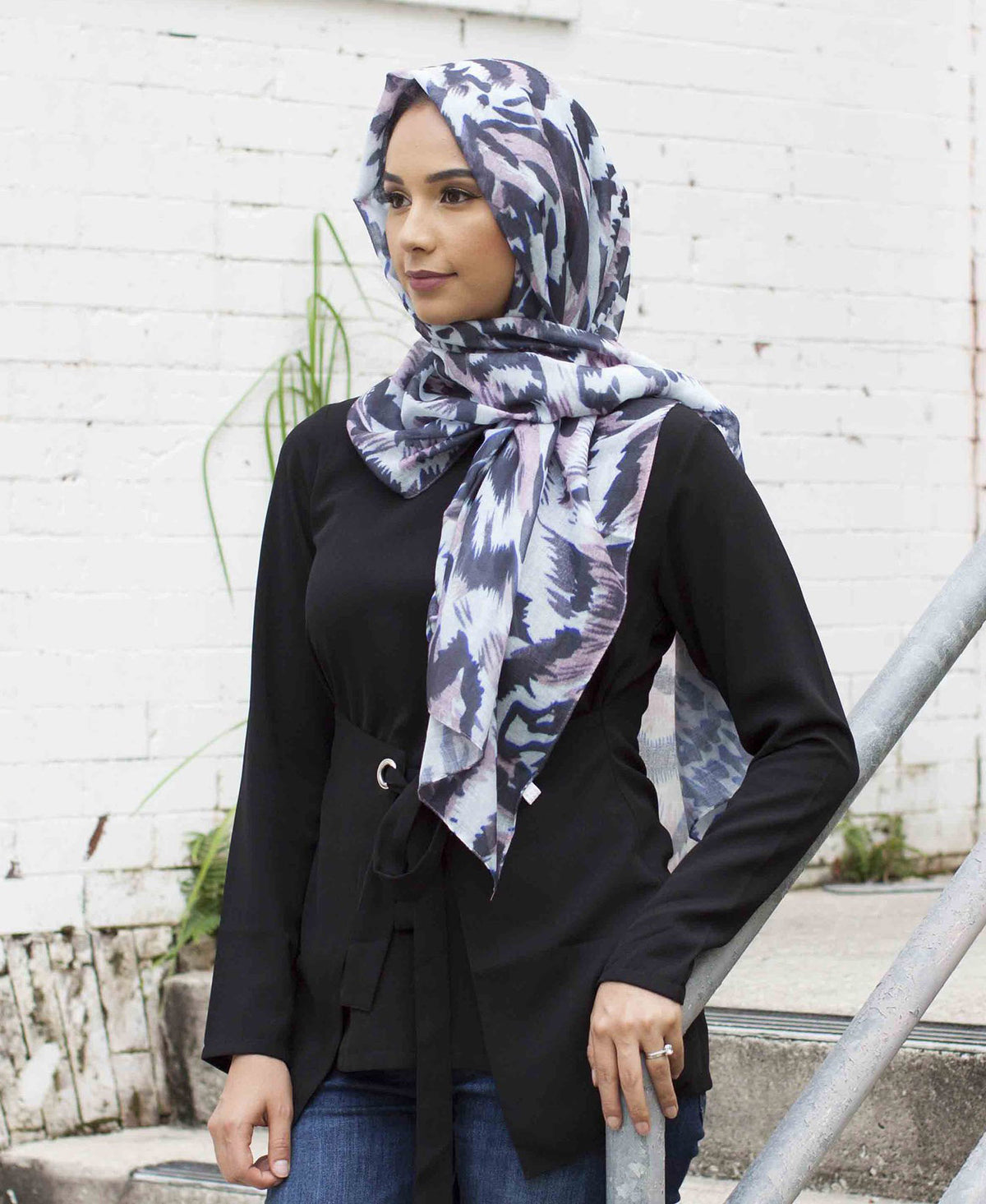 Aurora Viscose Printed Hijab - Verona Collection
