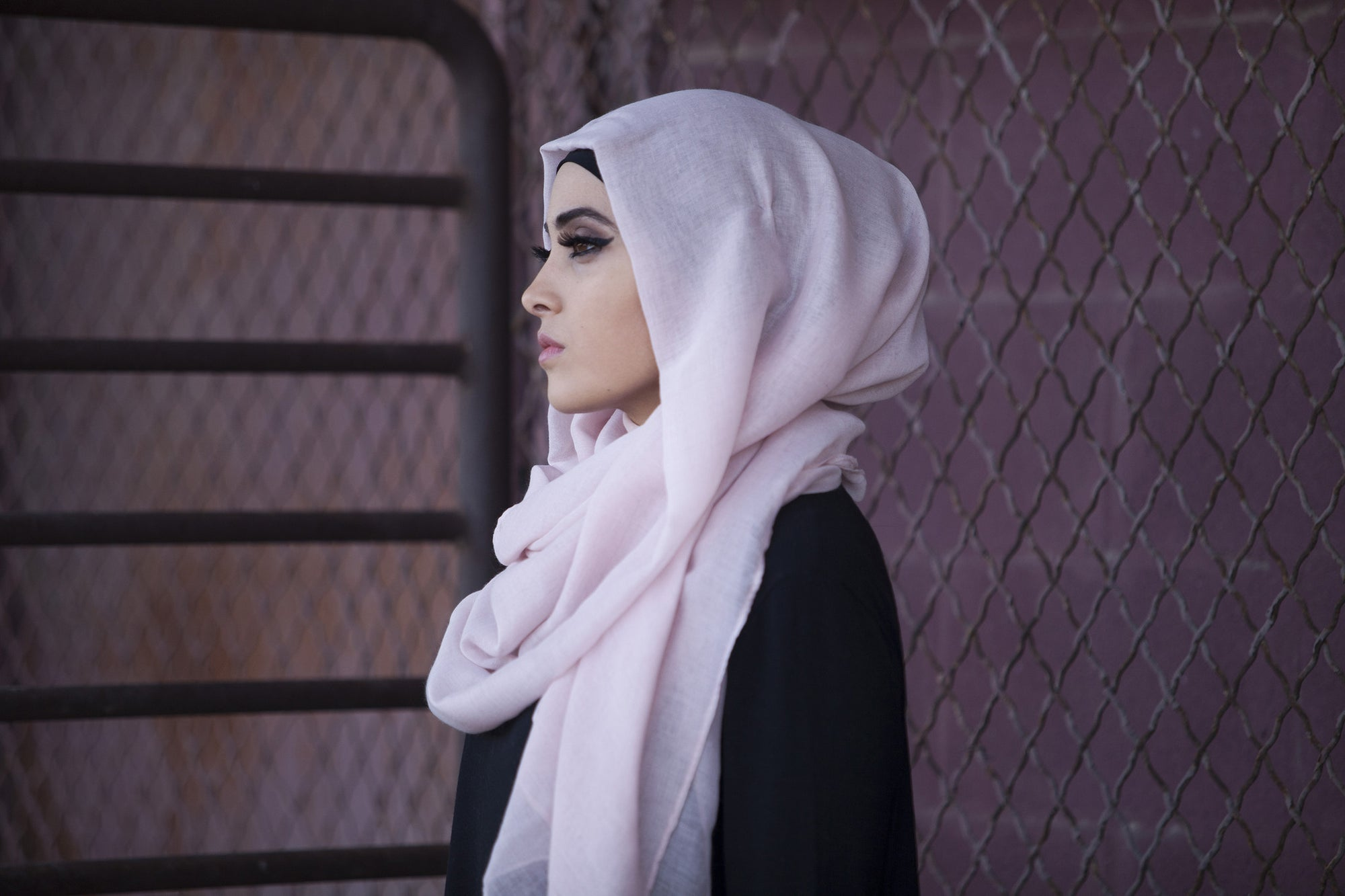 Viscose Hijab - Blush
