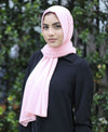 Chiffon Maxi Hijab - Coral - Verona Collection