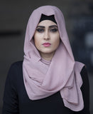 Chiffon Hijab-black SS - Verona Collection