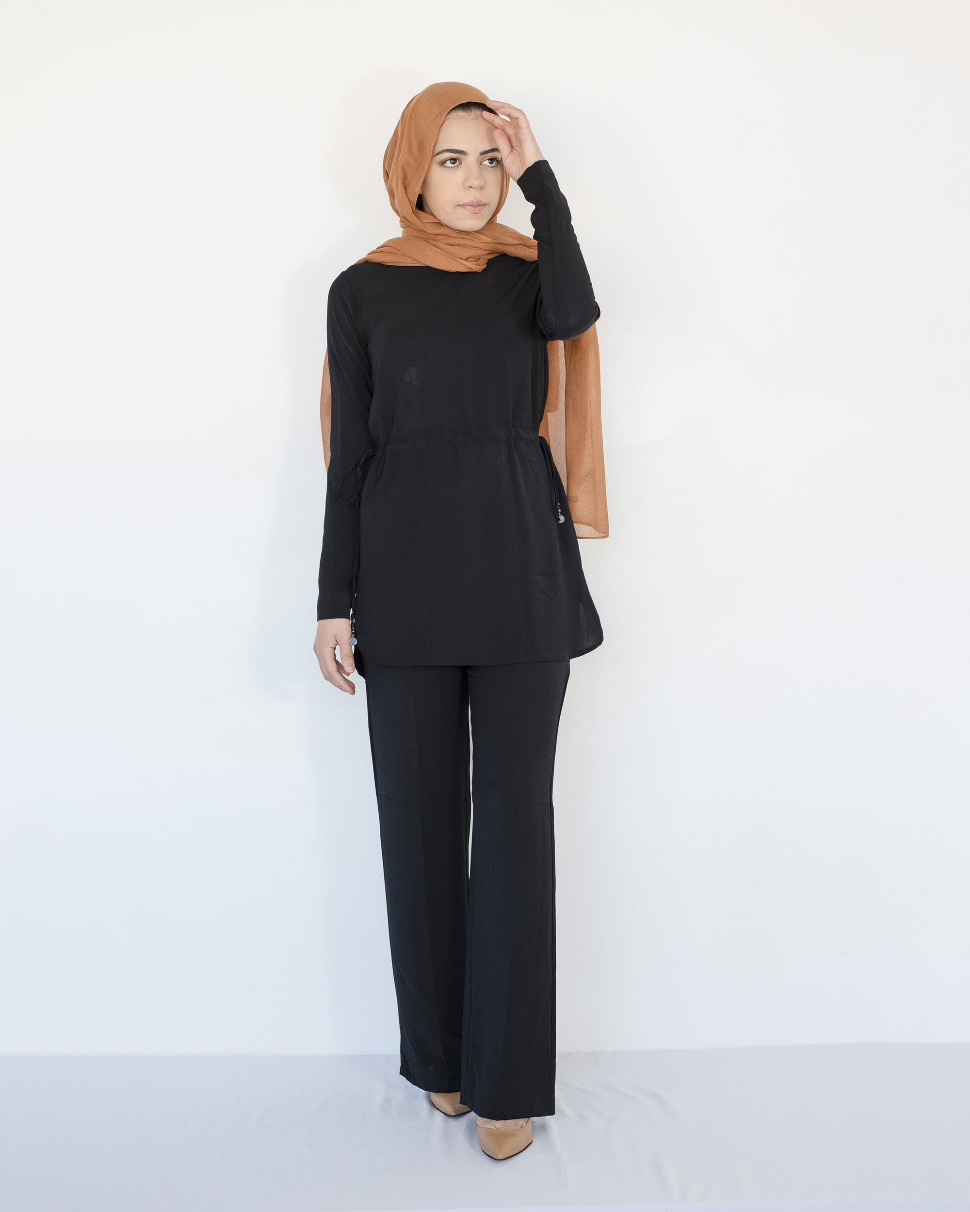 Ari Modest Co-ord set - Black
