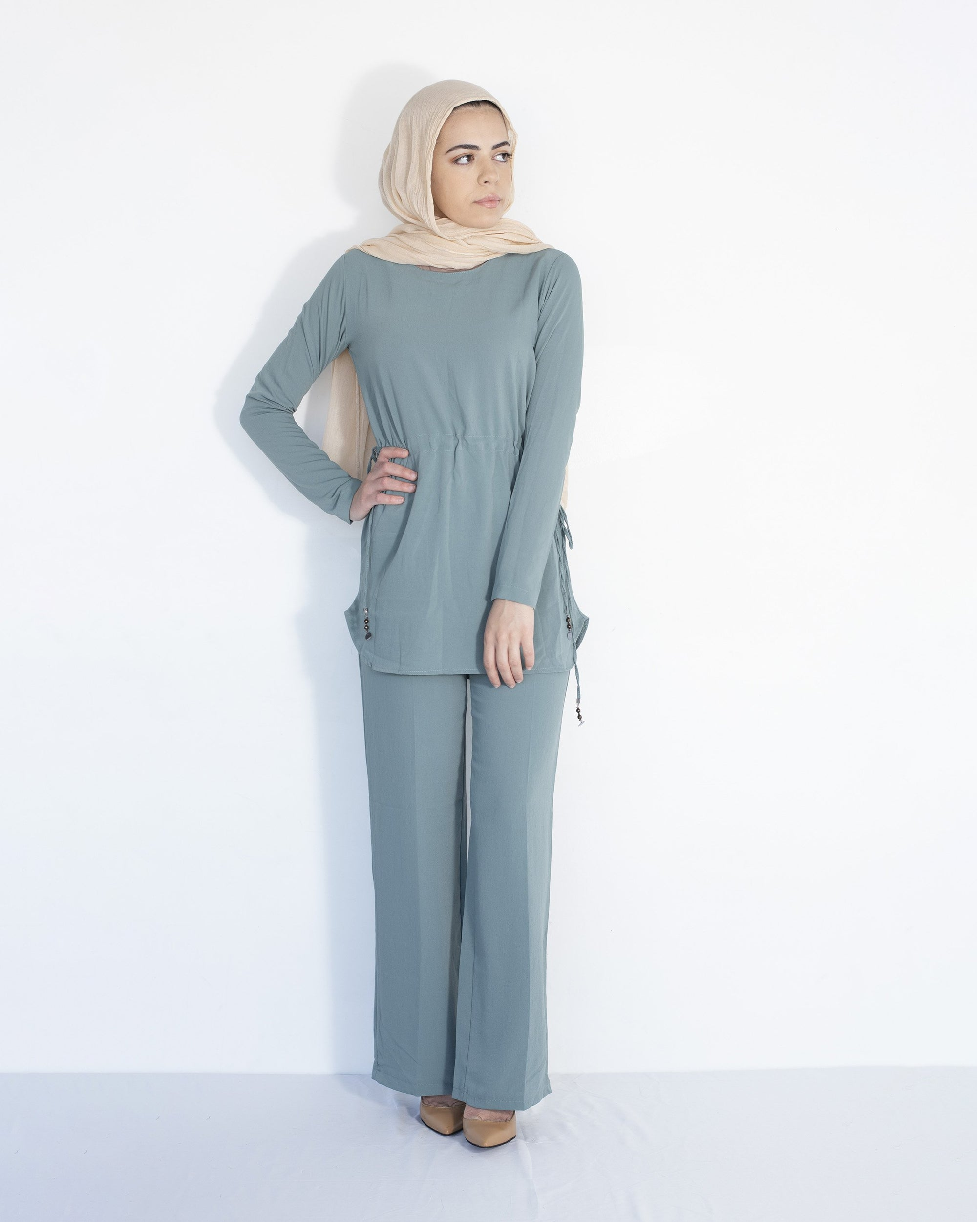 Ari Modest Co-ord set - Sage
