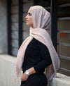 Hand Dyed Viscose Hijab - Dusty Pink - Verona Collection