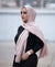 Hand Dyed Viscose Hijab - Blush