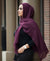 Hand Dyed Viscose Hijab - Deep Cherry