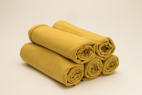Luxury Cotton Tube Cap - Mustard - Verona Collection
