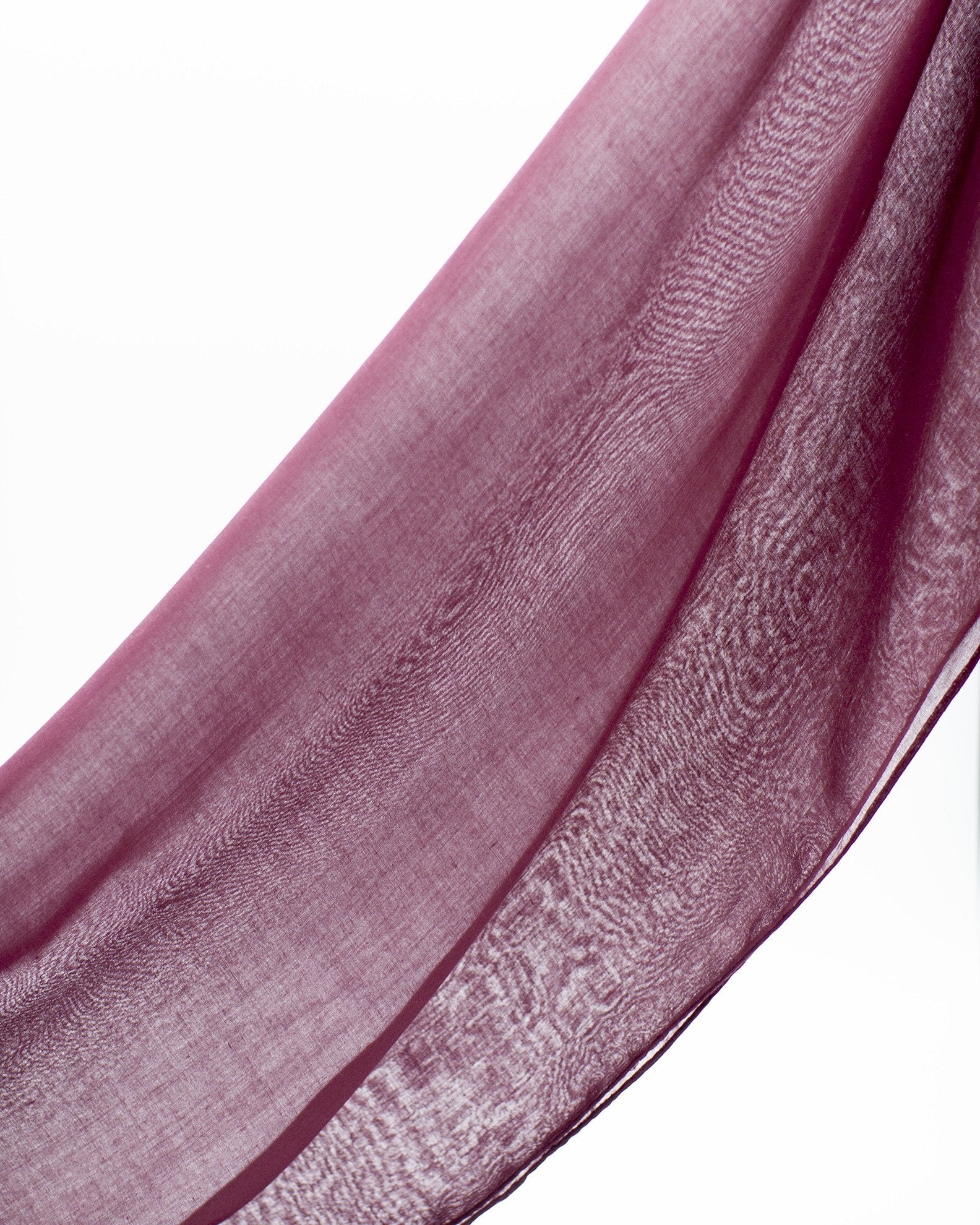 Luxury Viscose Hijab - Deep Cherry