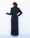 Mena Maxi Dress - Black - Verona Collection