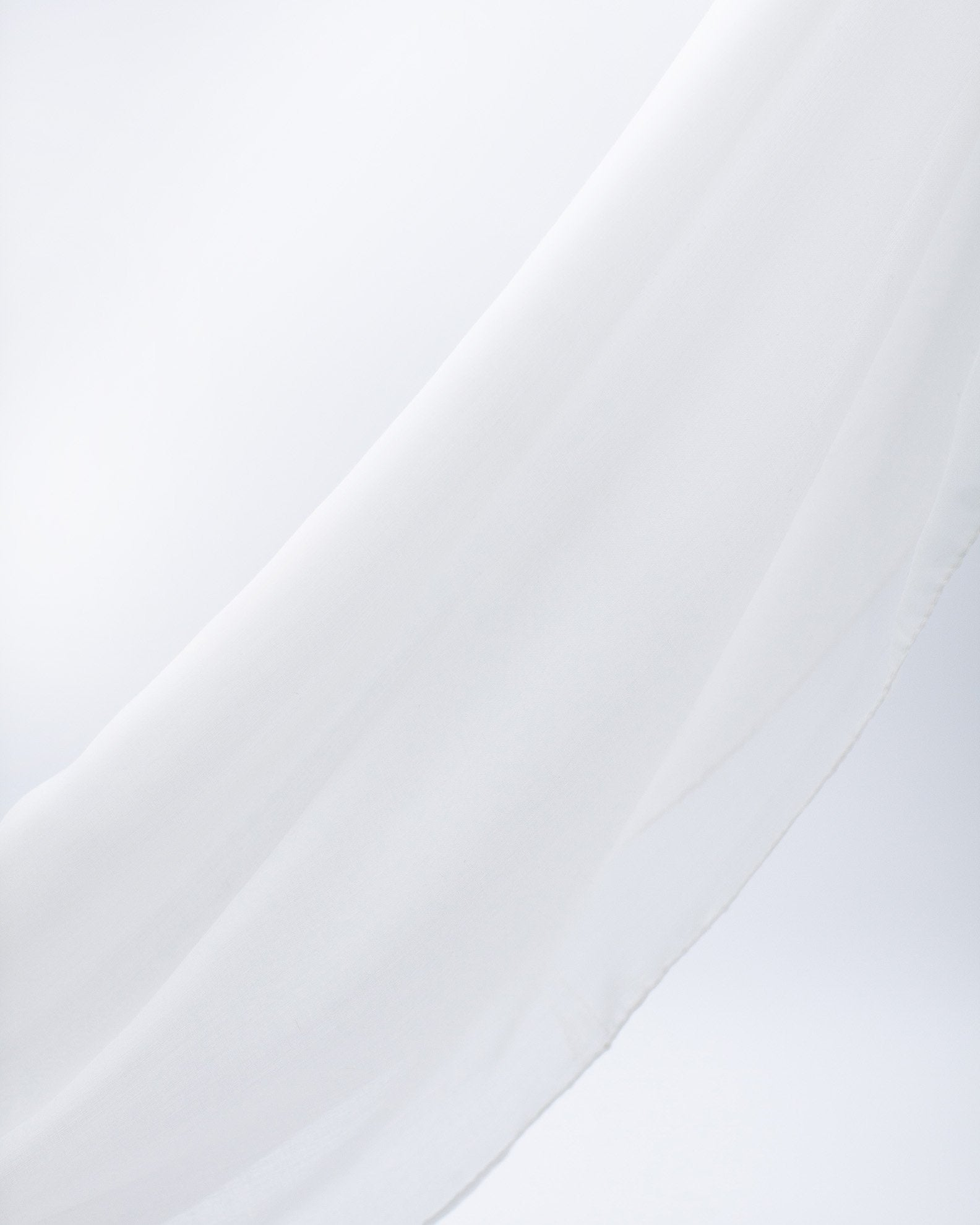 Luxury Viscose Hijab - White
