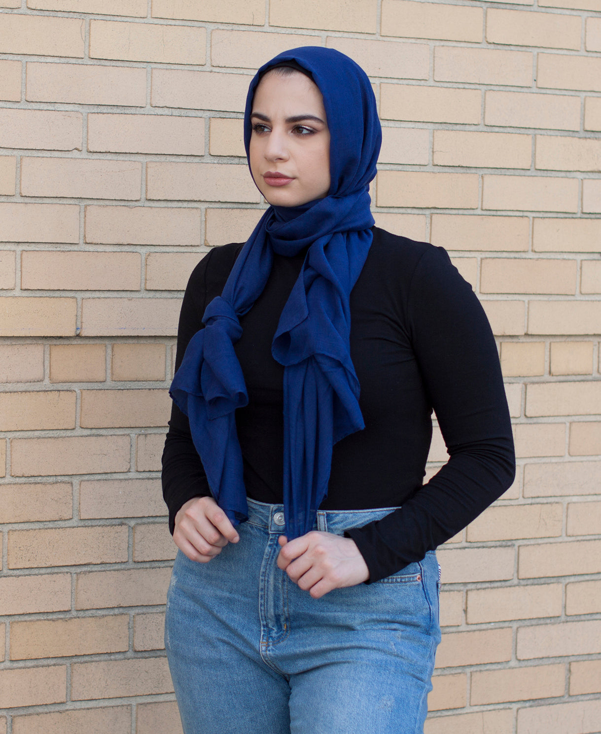 Viscose Hijab - Royal Blue