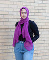 Viscose Hijab - Magenta - Verona Collection