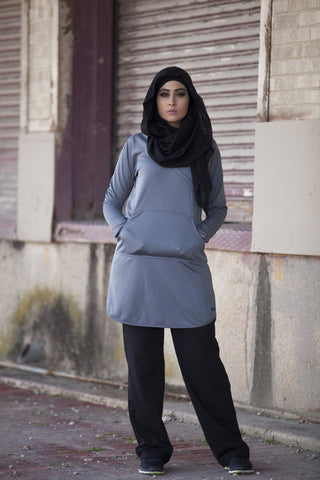 Basic Workout Top - Grey - Verona Collection
