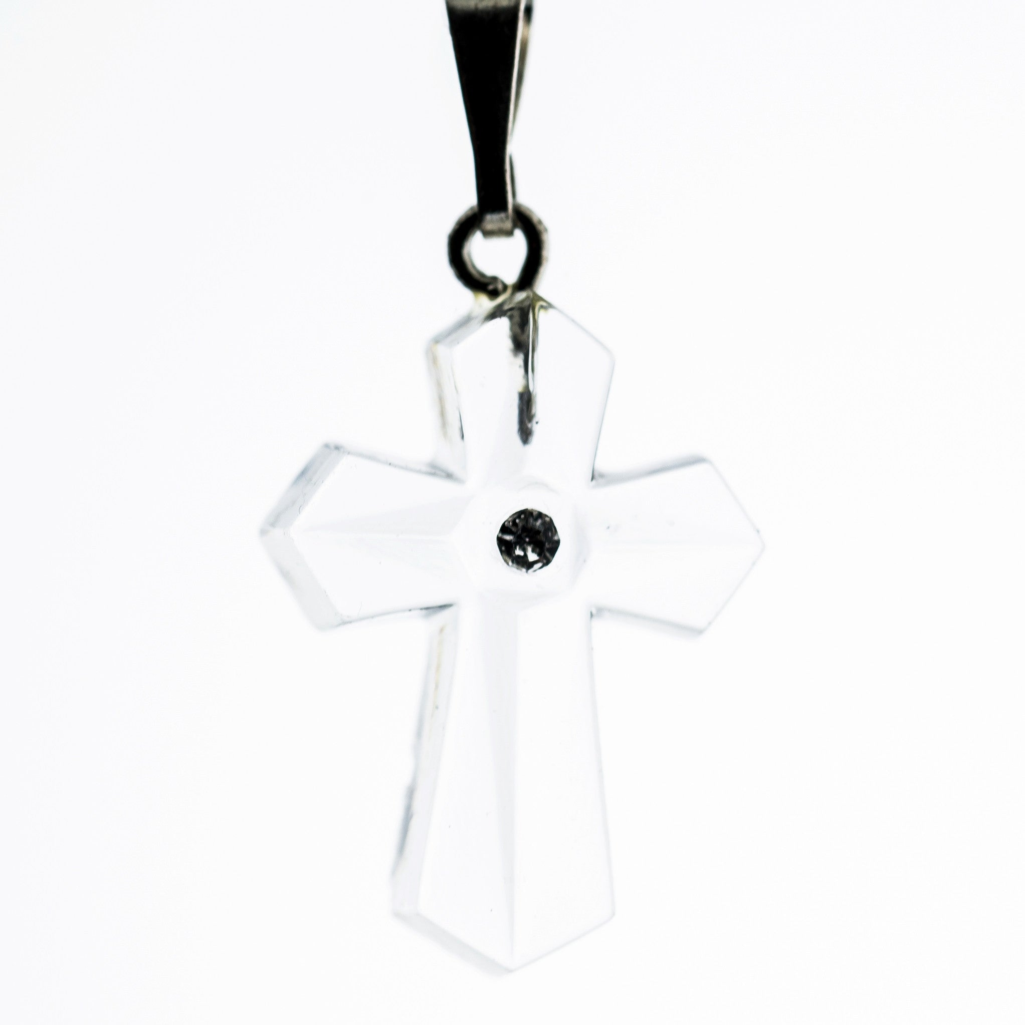 20X14MM Crystal Cross Pendant (6 pieces)